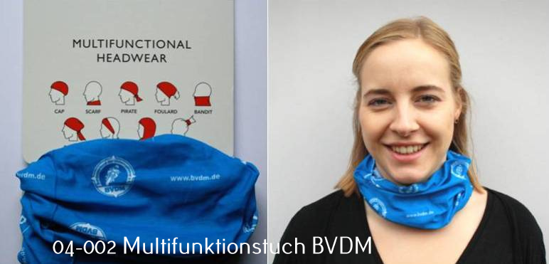 BVDM Multifunktionstuch